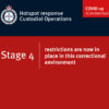 Southern and central Queensland prisons locked down: Stage 4 restrictions